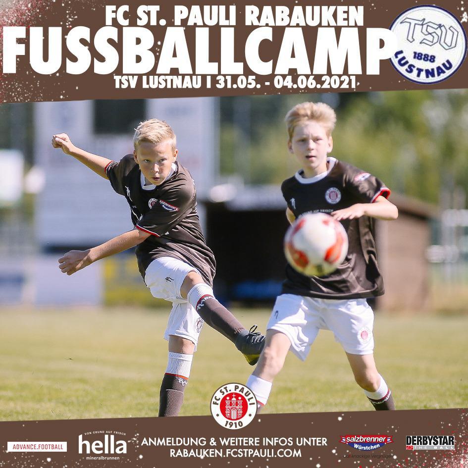FC St. Pauli Fußballcamp in den Pfingstferien