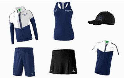 Neue Kollektion der Tennisabteilung
