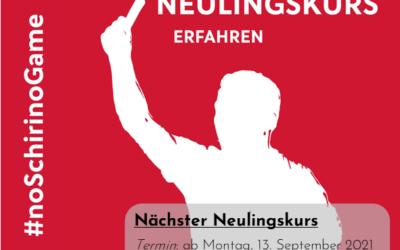 Schiedsrichter-Neulingskurs: Schiedsrichter*innen gesucht!