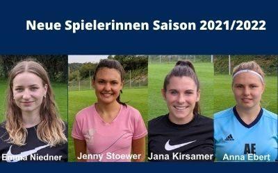 Neue Spielerinnen im I. Frauenteam