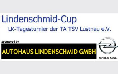 Lindenschmid-Cup – jetzt anmelden!